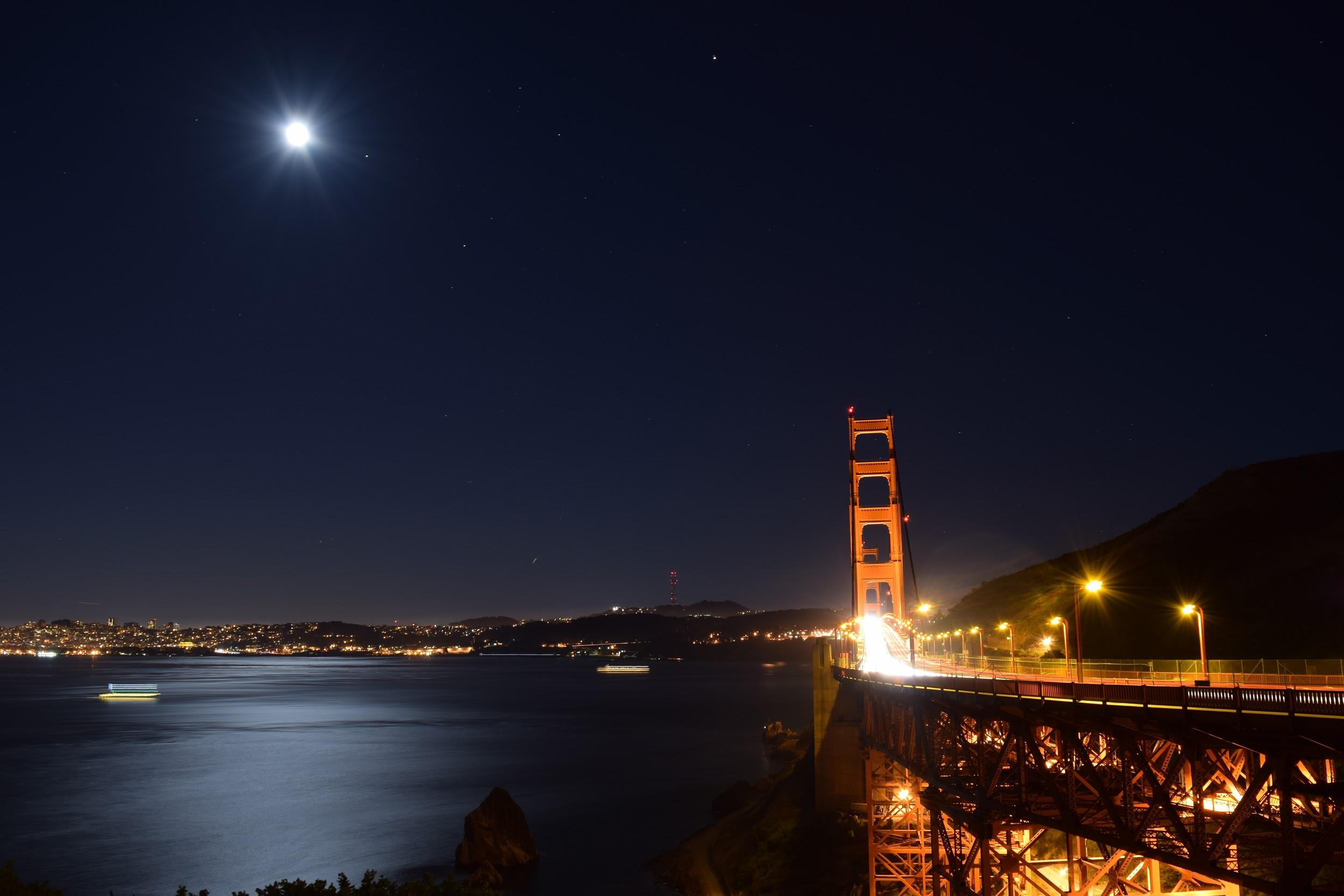 I started off this summer taking a trip to San Francisco with my family. We crossed the Golden Gate Bridge and visited Vista Point at night to get a full view of the city. (ALEXA FONTANILLA)