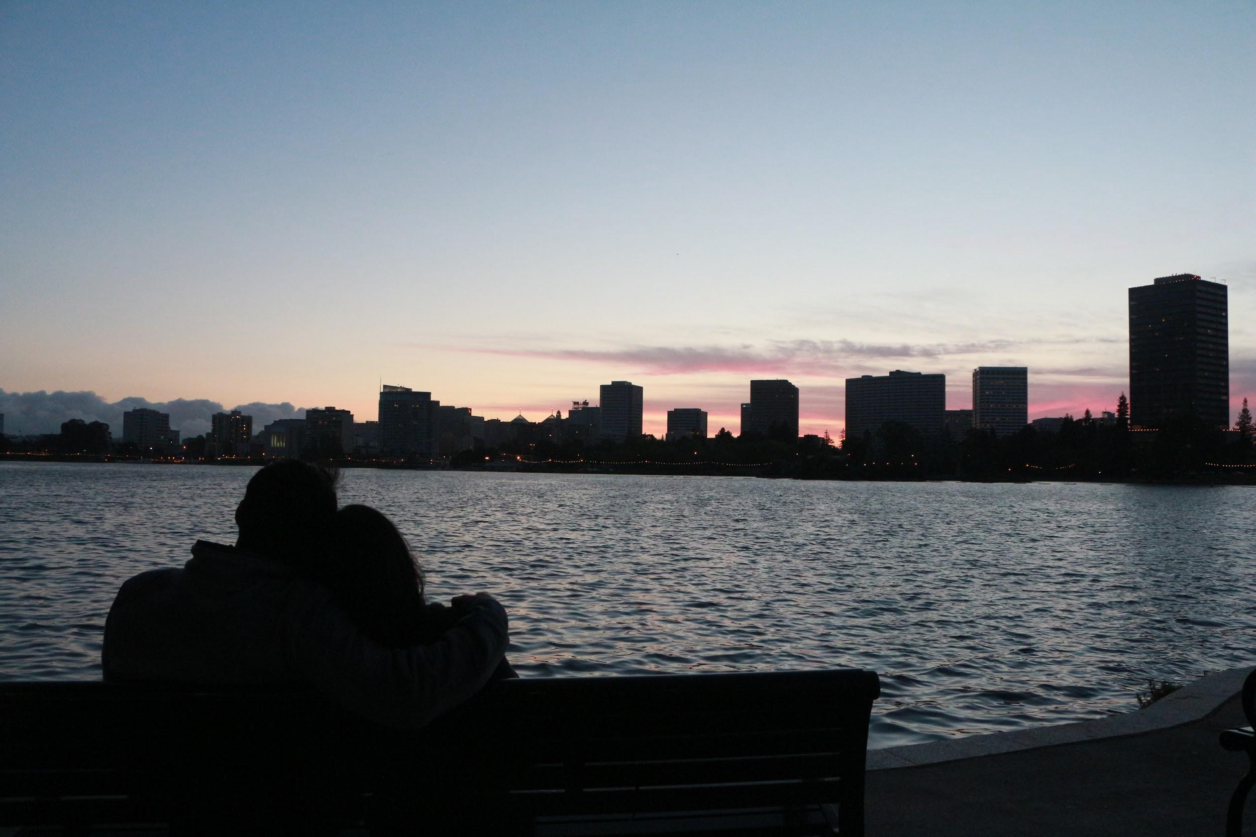 This summer, I was lucky enough to live close to Lake Merritt. I was able to go on a run around the lake and watch the sunset every week. On this day, I was able to capture my brother and his fiance enjoying the scenery together. (MONICA CHAN)