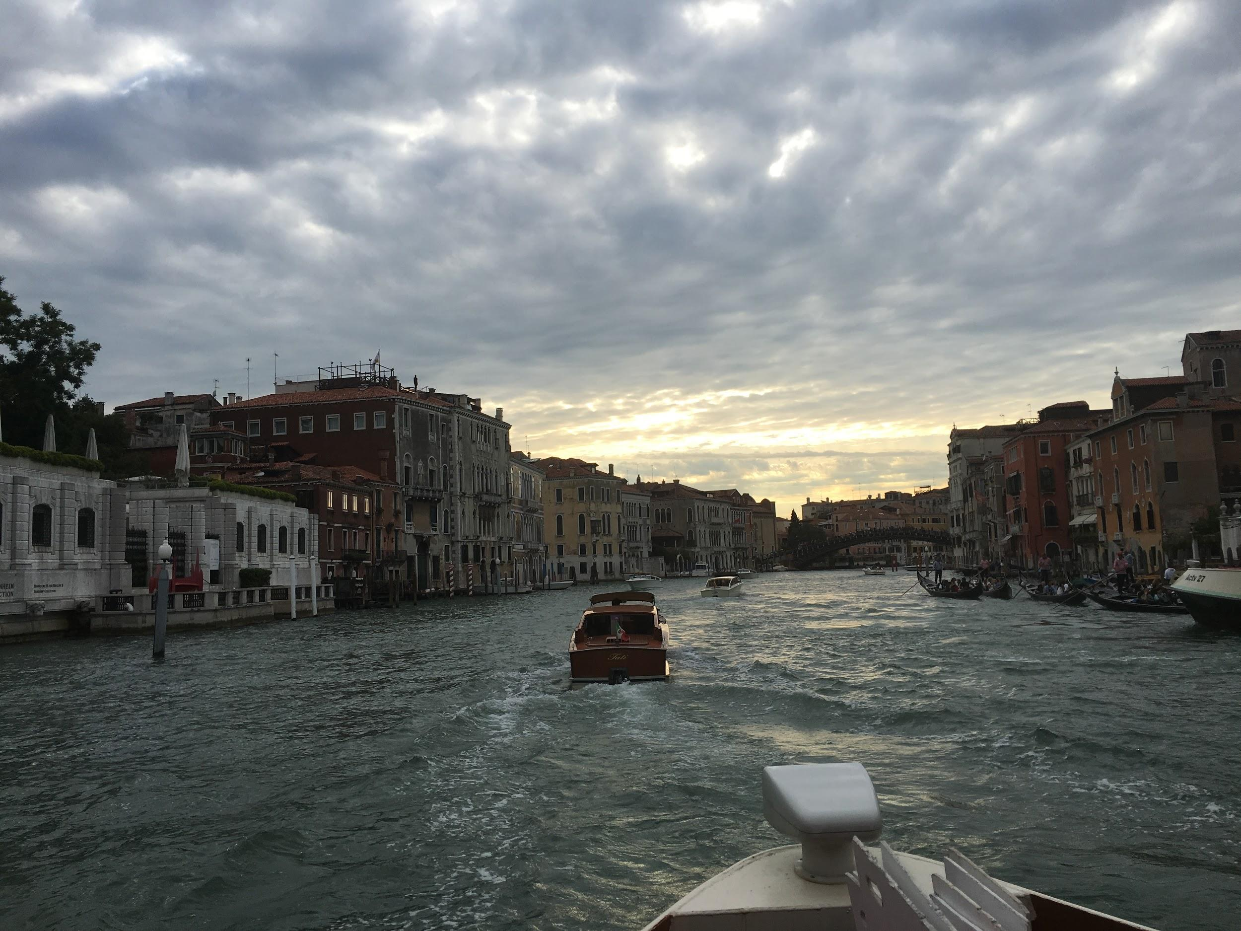 This summer I got the chance to take a boat ride on the Grand Canal in Venice which topped my entire trip to Italy. (VENOOS MOSHAYEDI)