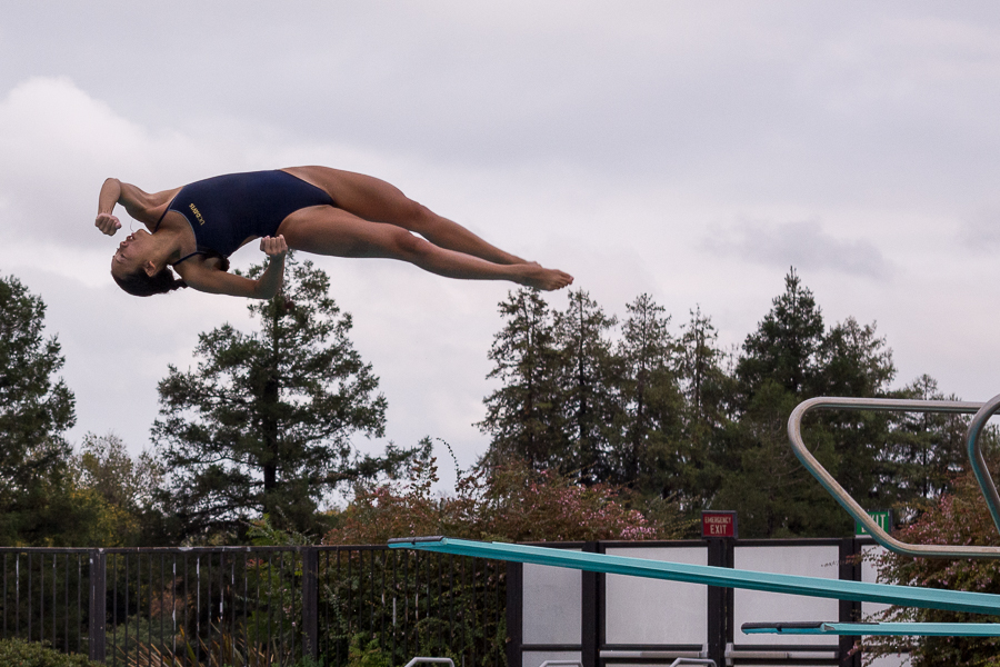 UC Davis swimming and diving claims strong victory over BYU
