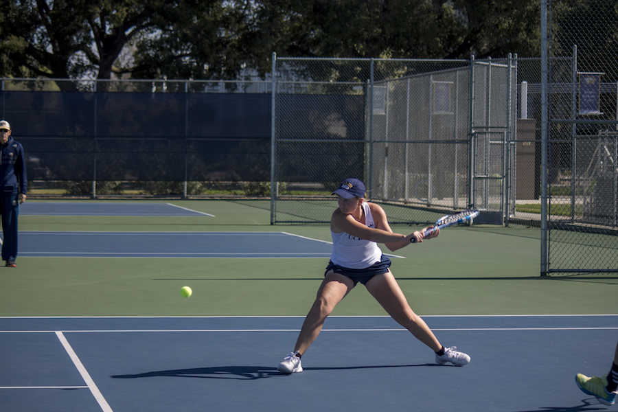 Women's tennis sees doubles