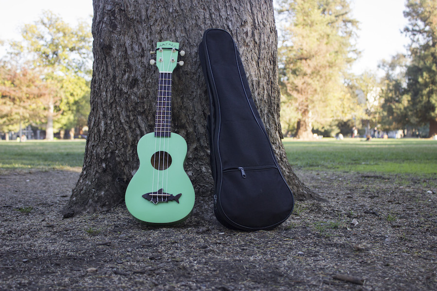 I am so thankful for my ukulele, which has helped me learn about music, enjoy life and happy tunes, and become friends with a diverse group of amazing people. (AMY HOANG)