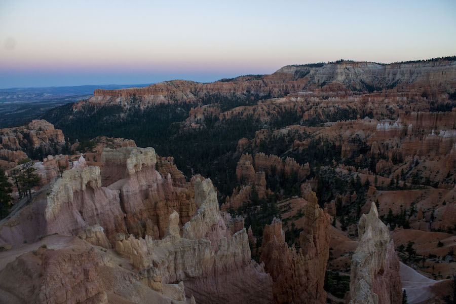 I am thankful for the earth and our ability to explore and protect it. (Bryce Canyon) (LUCY KNOWLES)