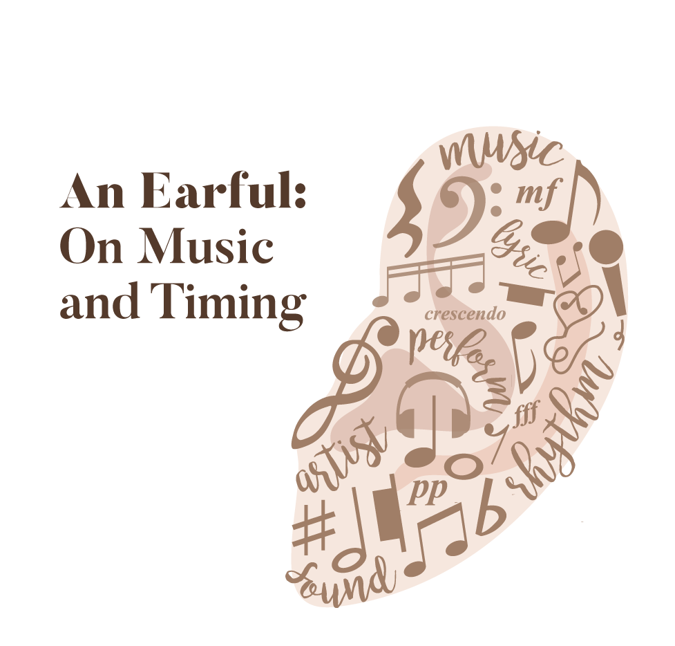An earful: on music and timing - The Aggie