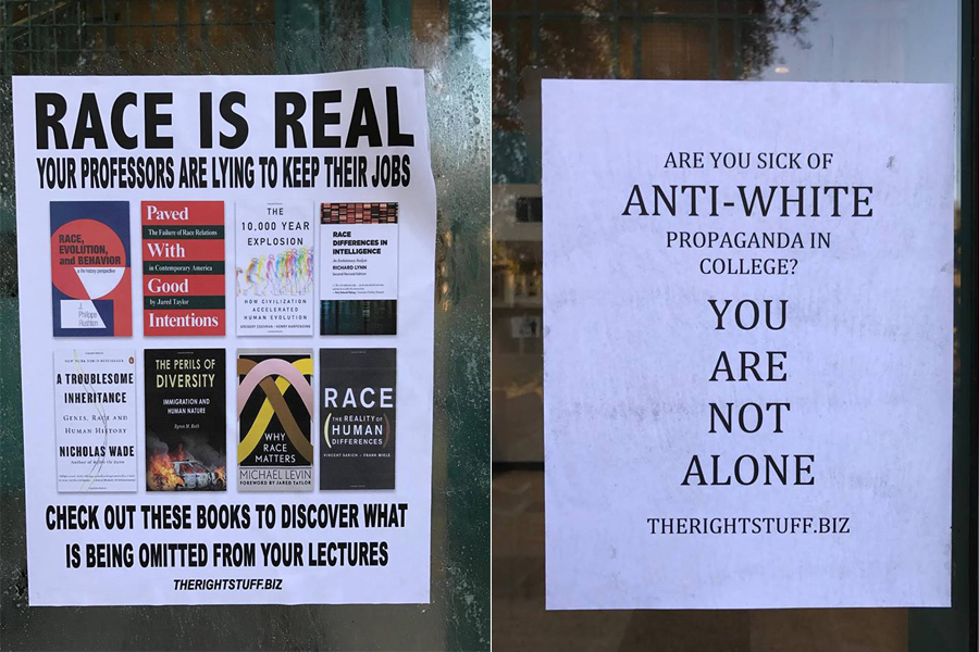 Anti-diversity posters discovered on campus