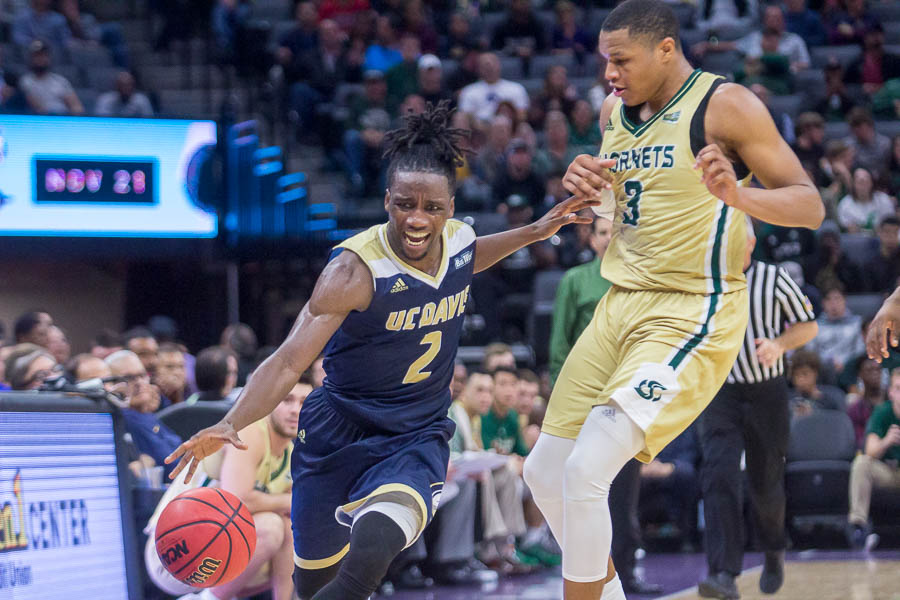 UC Davis beats Sac State in first college basketball game at Golden1 Center