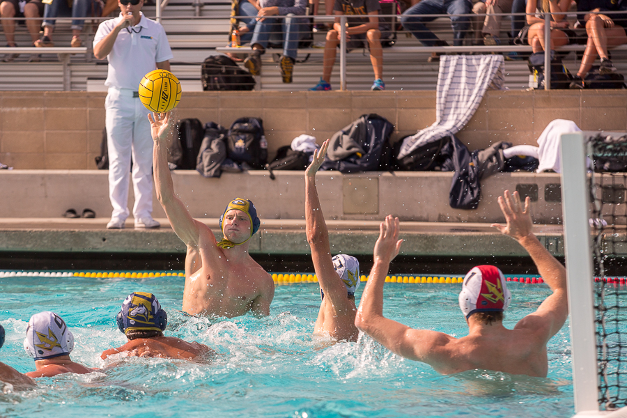 Men's water polo places first in conference, defeats UC San Diego