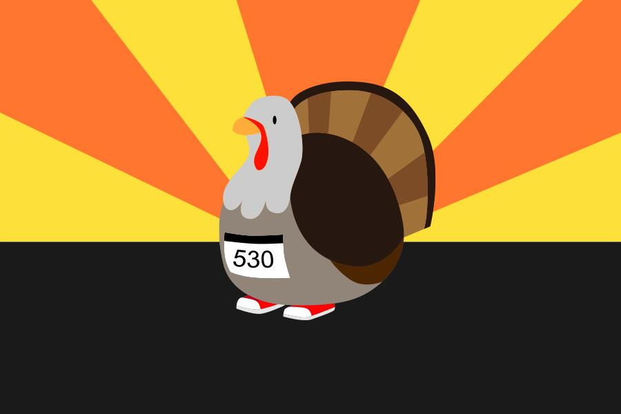 Yolo Food Bank's eighth Annual Running of the Turkeys Fun Run/Walk