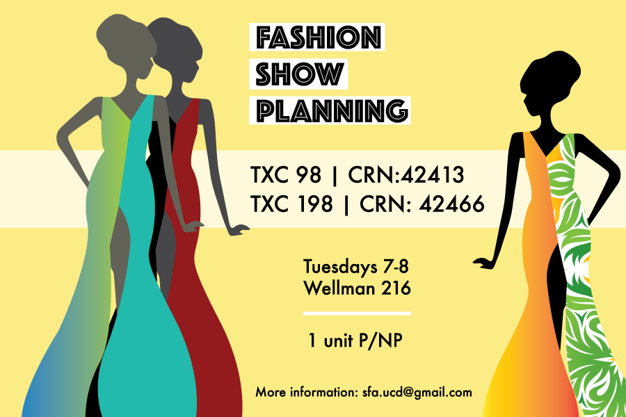 Student Fashion Association to offer fashion show planning class