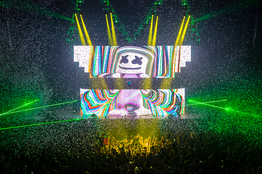 Show Review: marshmello brings the opposite of mellow to San Francisco