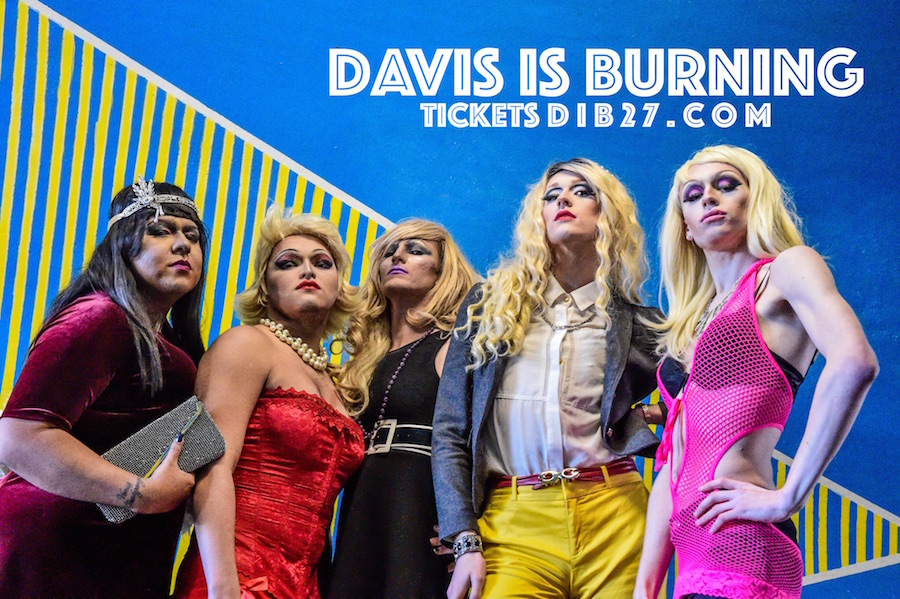 Davis is Burning fires up for two performances