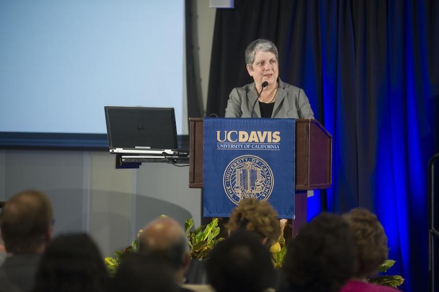 UC President Janet Napolitano hospitalized