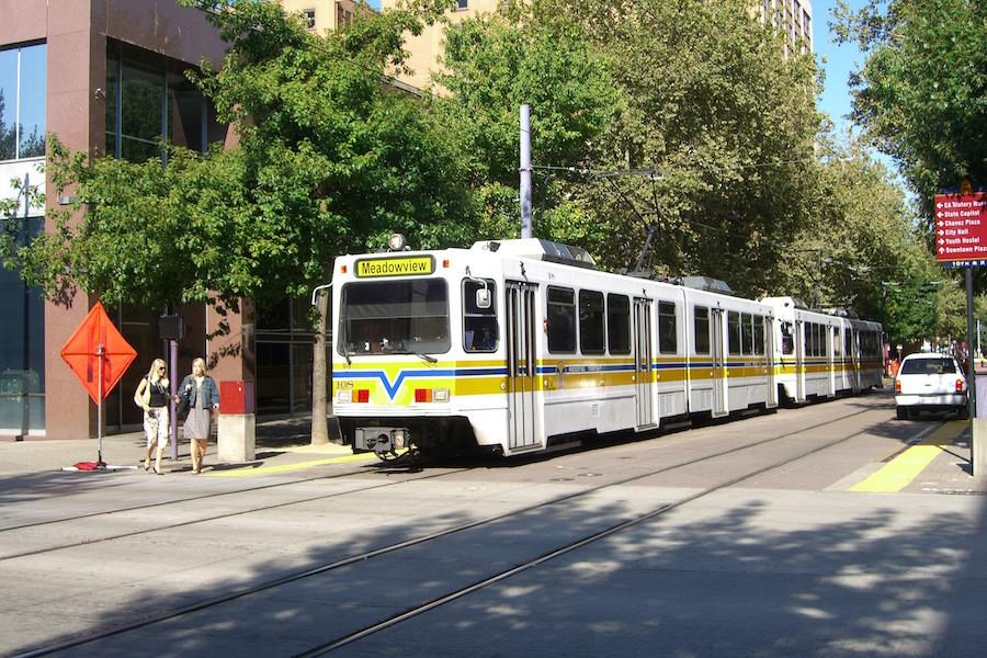 Sacramento's new public transportation
