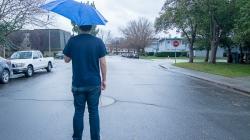 Humor: Winter storm manifestation of student body's sadness