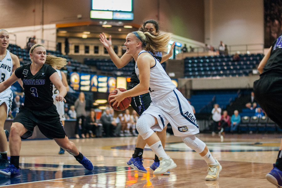 UC Davis women's basketball breaks records on the road