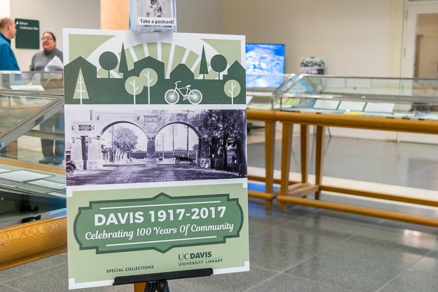 Shields Library hosts new exhibit for Davis centennial