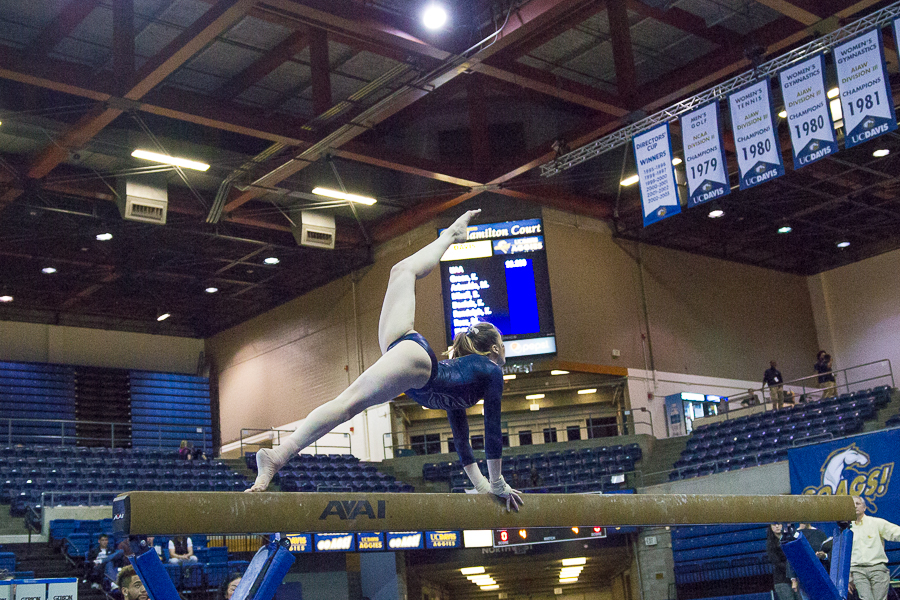 Women's gymnastics take two