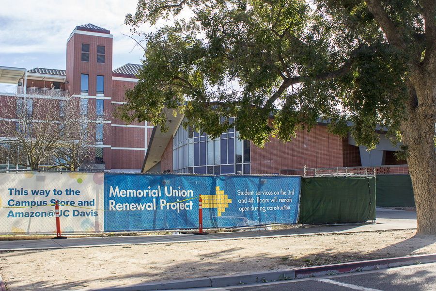 Memorial Union to reopen Spring Quarter