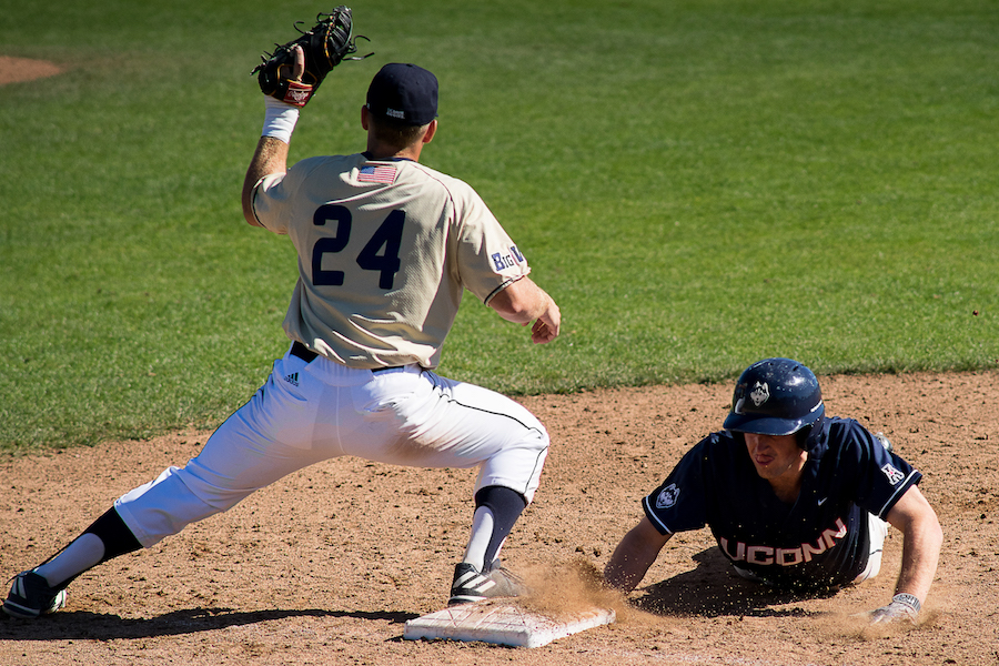 Aggies claim victory over Huskies in series finale