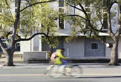 A weekend bike ride down Hutchinson Drive