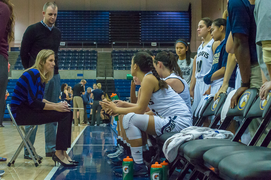 UC Davis women's basketball head coach awarded Coach of the Year