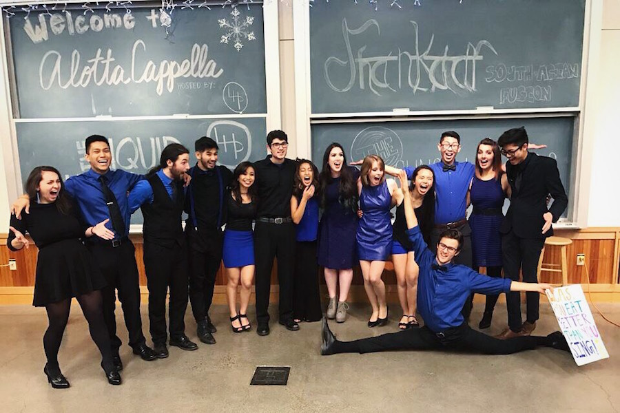 Liquid Hotplates take home first place in a cappella competition