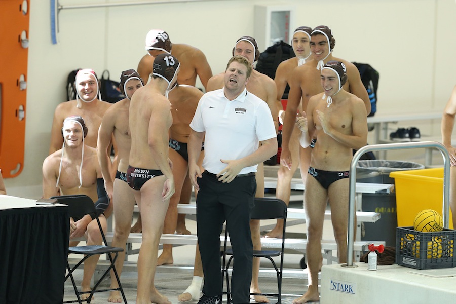 Men's water polo team welcomes new assistant coach
