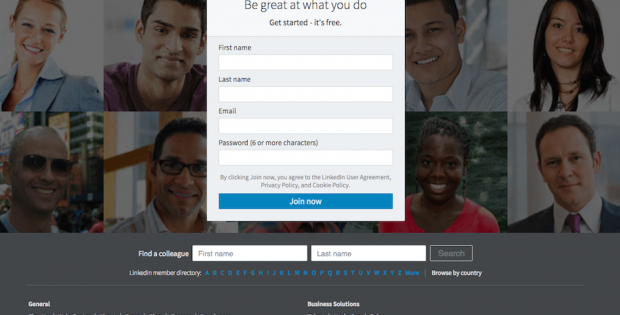 Humor: How to make a LinkedIn account