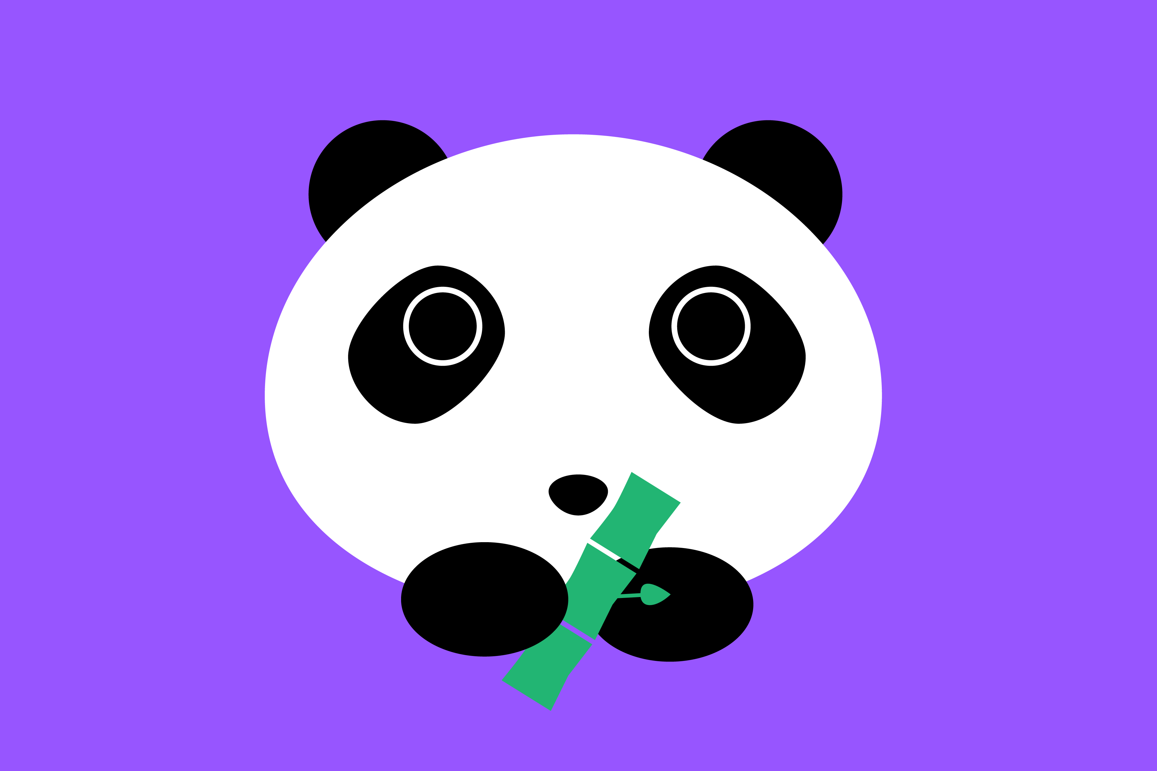 """Bamboo""zled by pandas' colors no more"