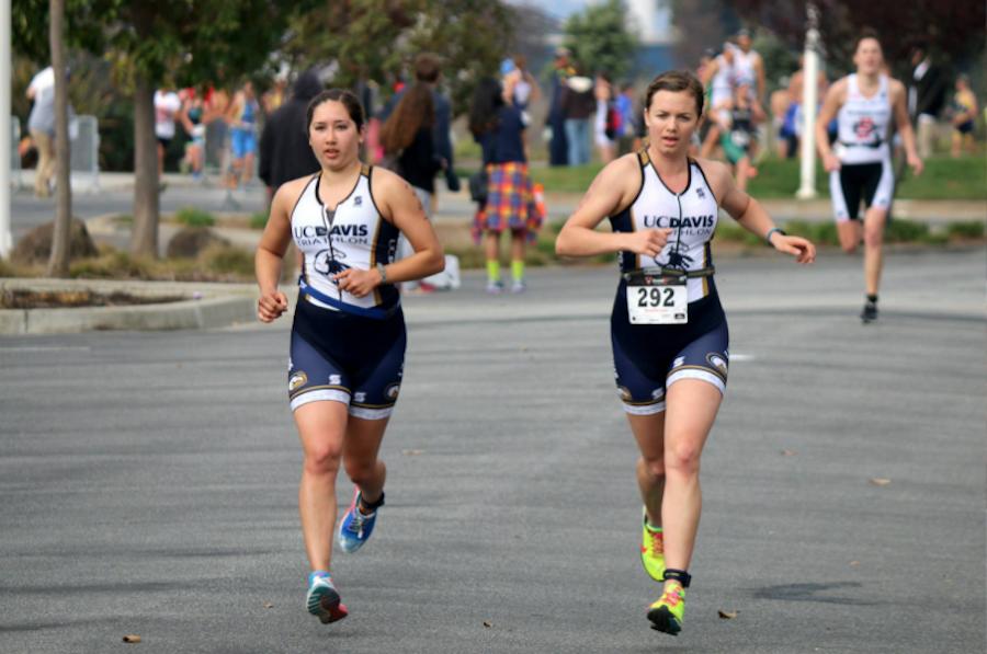 Triathlon triumph
