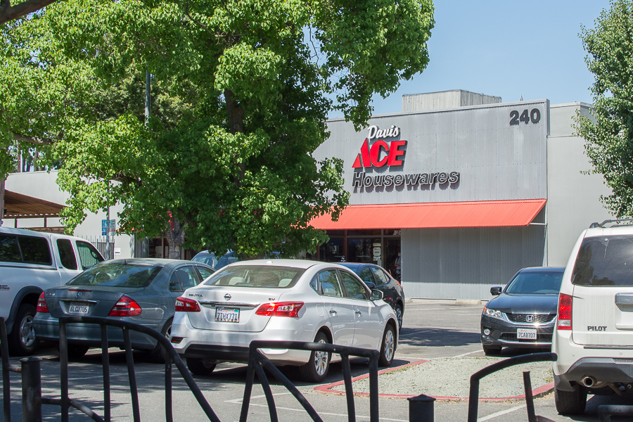 Davis Ace Hardware to renovate parking lot