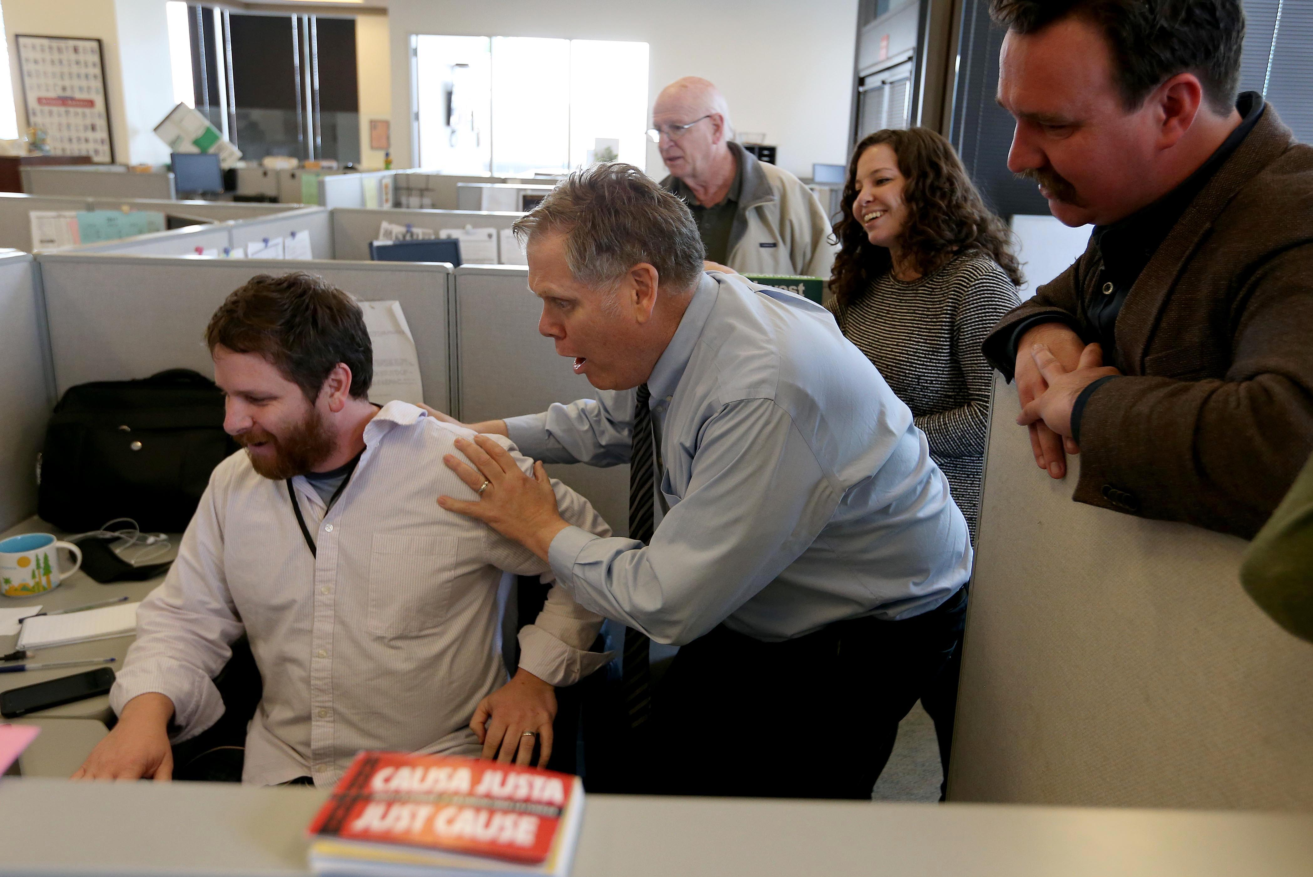 Former California Aggie editor-in-chief wins Pulitzer Prize