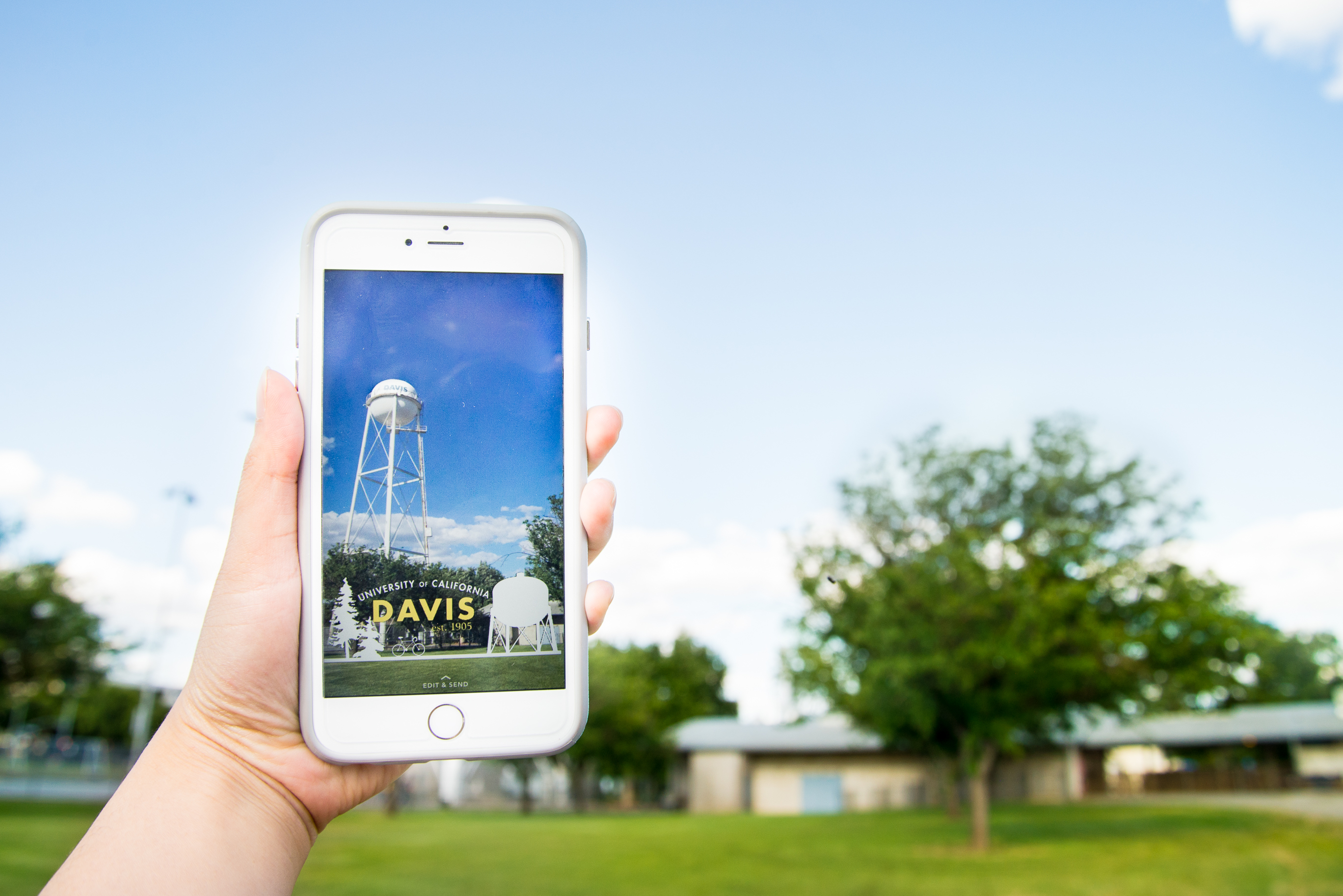Best Campus Snapchat Filter: The White Water Tower