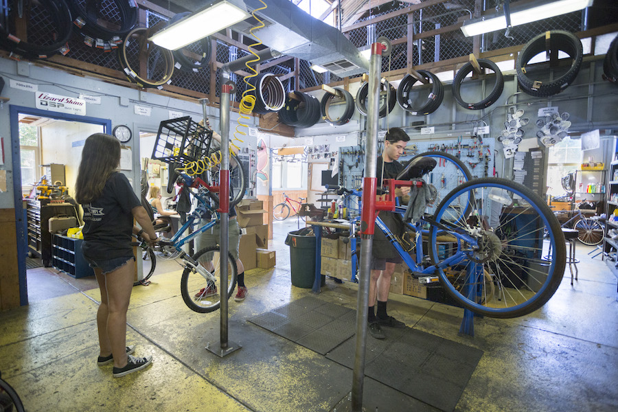 The Bike Barn: gears, tires and true Friends
