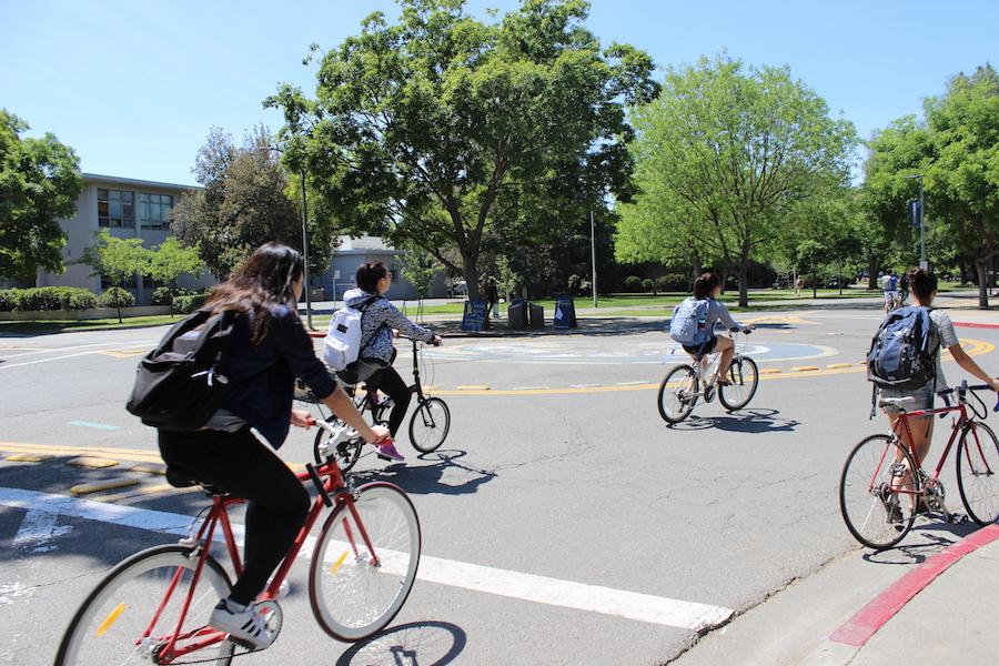 UC Davis celebrates bike month in May