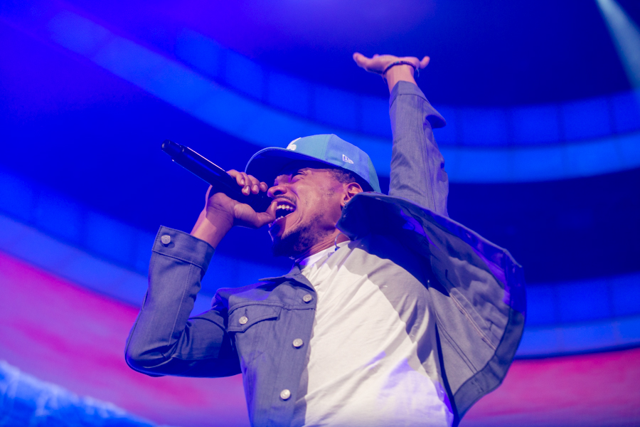 "Chance The Rapper ""Be Encouraged Tour"" stops at Sacramento Golden 1 Center"