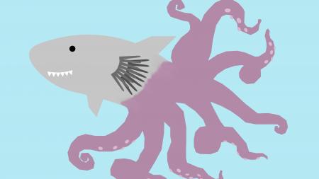Mega-shark vs. climate change