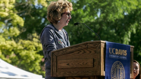 Humor: Former chancellor Katehi to teach ethics course