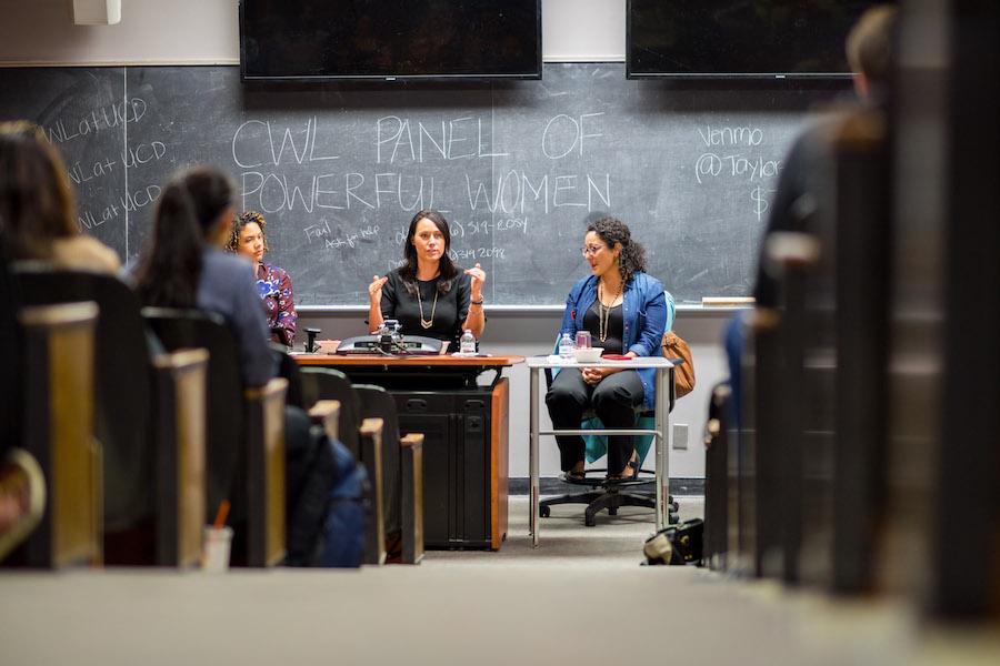 UC Davis student chapter of California Women's List holds quarterly panel of powerful women