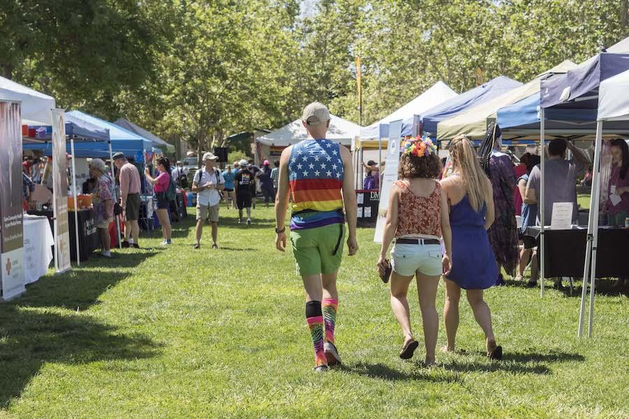 Davis Pride: Responding to adversity in colorful stride