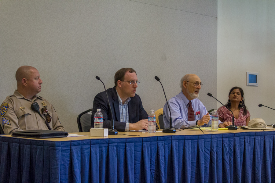 Interim Chancellor Hexter organizes panel to address protection, restriction of hate speech