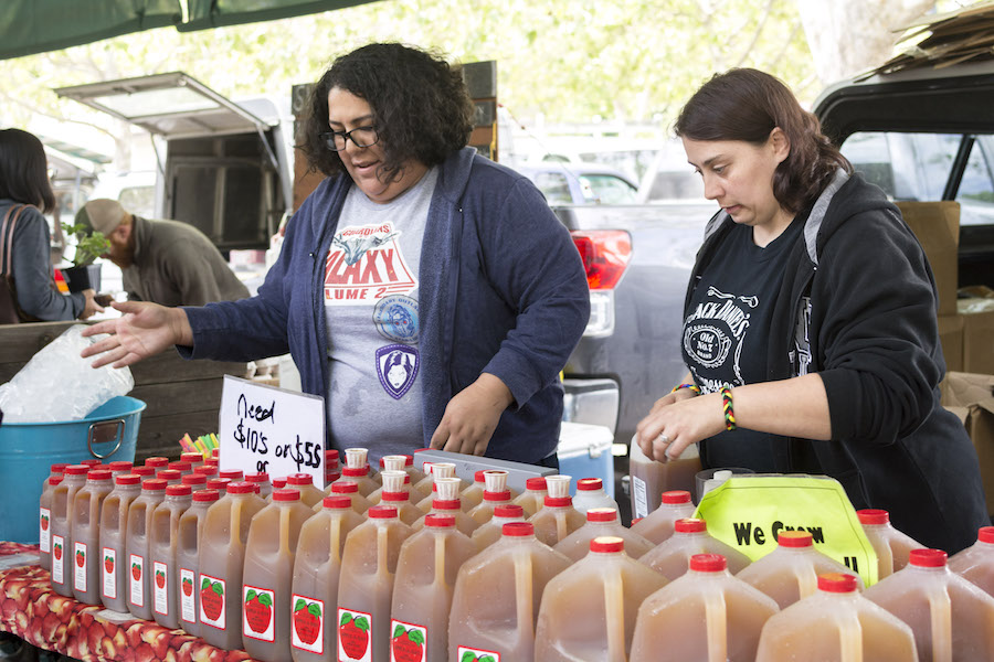 Farmer's Market profiles: Apple-a-Day Cider