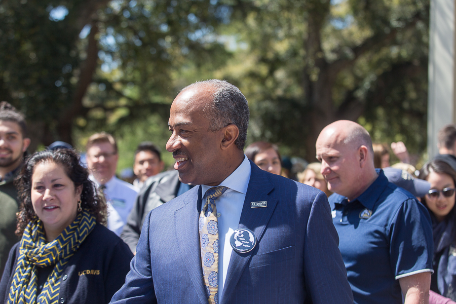 Chancellor May –– UC Davis officially has its seventh chancellor