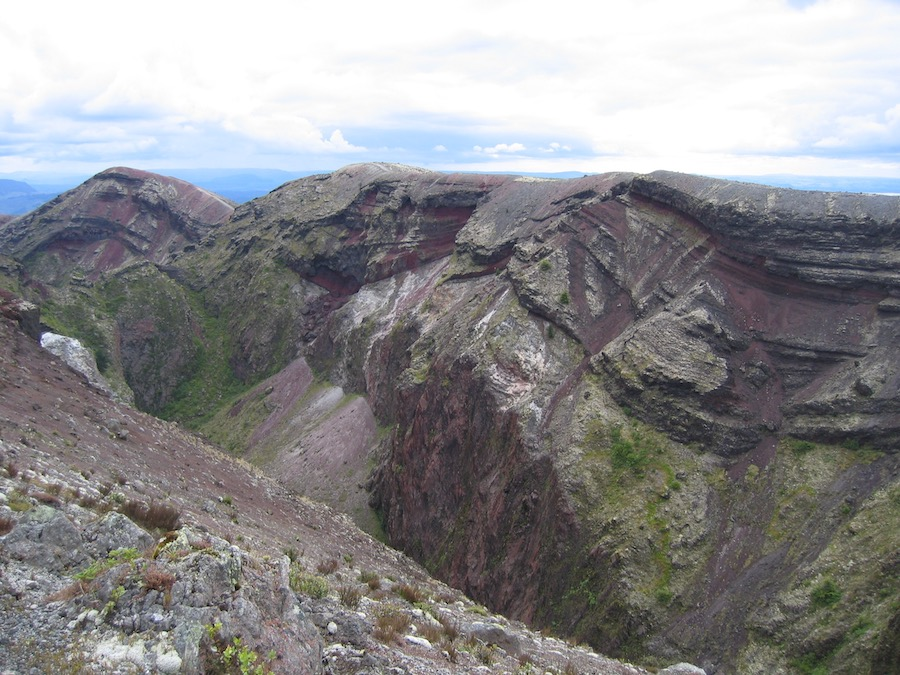 Magma reservoirs more similar to snow cone than vat of boiling lava