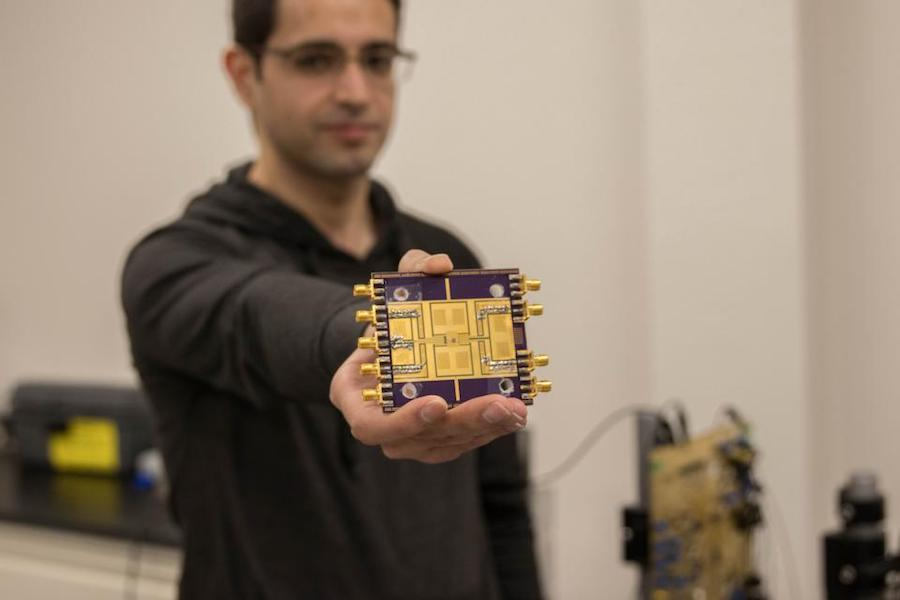 New high frequency electrical chip surpasses current technologies' speeds