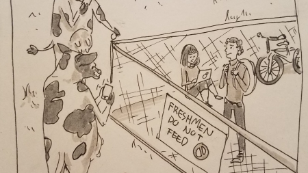 Freshmen: Do not feed