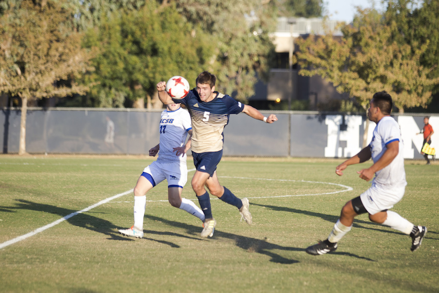 Men's Soccer puts UC Santa Barbara away