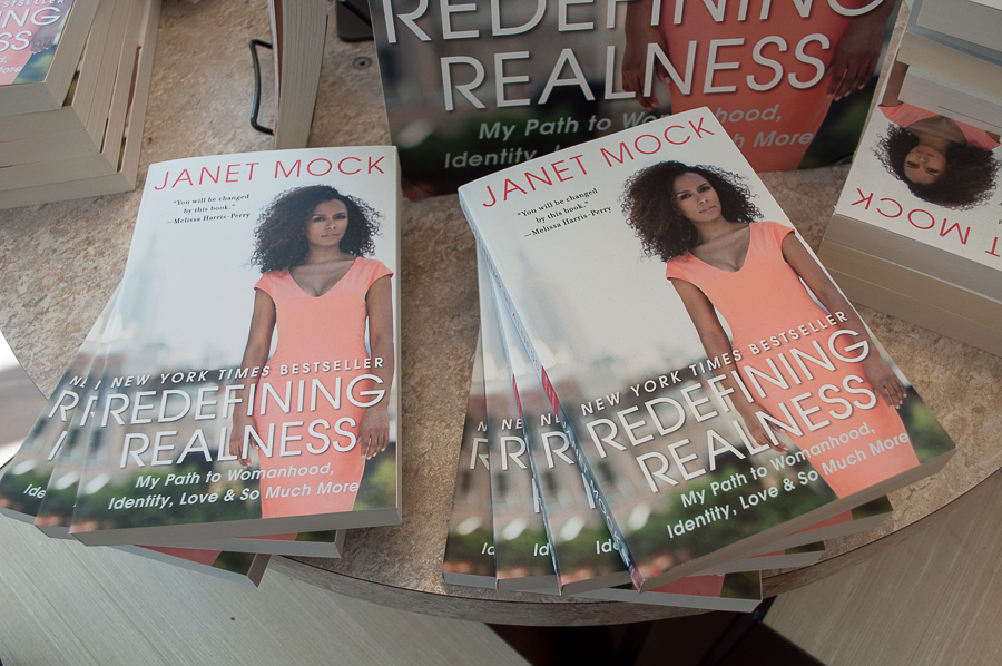 "2017-18 Campus Community Book Project chosen: Janet Mock's ""Redefining Realness"""