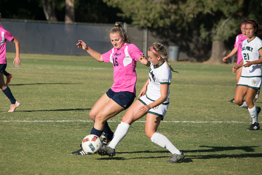 UC Davis women's soccer undefeated in Big West