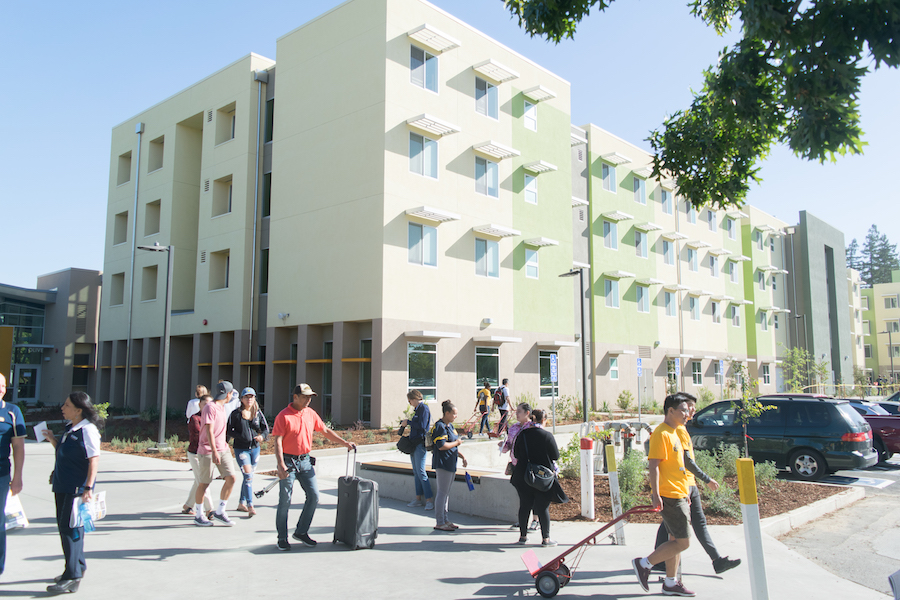 Three new Tercero dormitories welcome new class to UC Davis